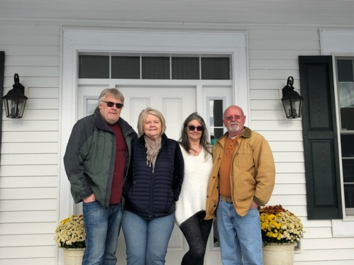 John and Carol with our guests Gina and Mike
